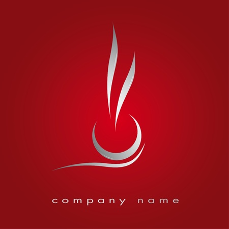 Logo for restaurant, fast food, cuisine