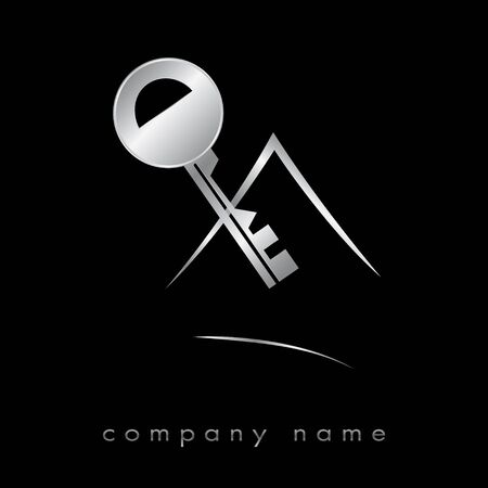Logotype for real estate, agency