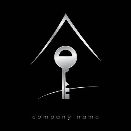 Logo für Immobilien, Agentur Standard-Bild - 9092757