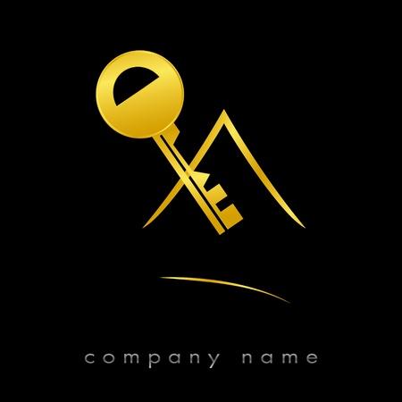 Logo für Immobilien, Agentur Standard-Bild - 9092763