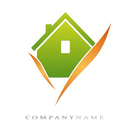 Logotype for housing, with new energies Vector