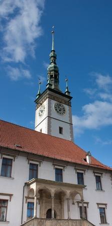 olomouc: Steeple in Olomouc Czech Republic