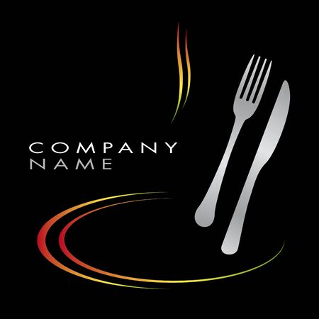 gourmet: Logo for cooking business Illustration