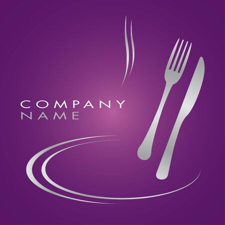 Logo for cooking business Illustration