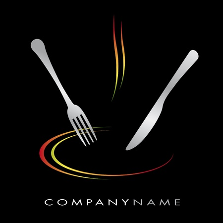 Logo for cooking business Illustration