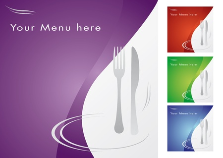 caterer: Menu for restaurant, cooking business
