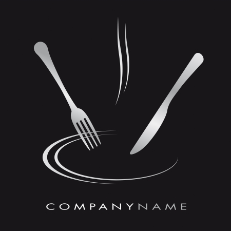 hot plate: Ilustraci�n para el negocio de cocina