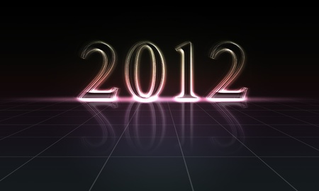 2012 Happy New Year Stock Photo - 11038798