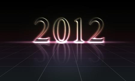 2012 Happy New Year Stock Photo - 11038798
