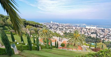 Overlooking Haifa, Israel from Mt Carmel
