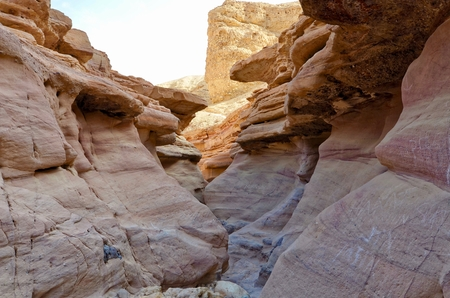 eilat: Red Canyon north of Eilat, Israel