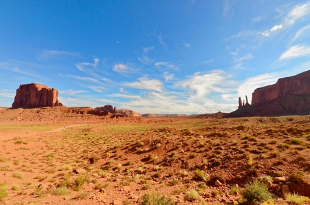 Monument Valley, Arizona Stock Photo