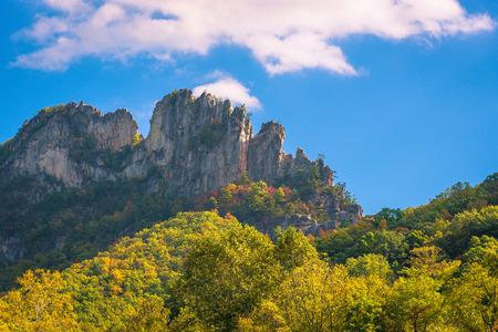 seneca: Seneca Rocks in West Virginia