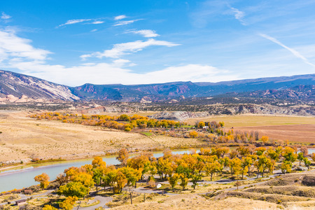 A viewpoint in Dinosaur National Monument from Cub Creek Road