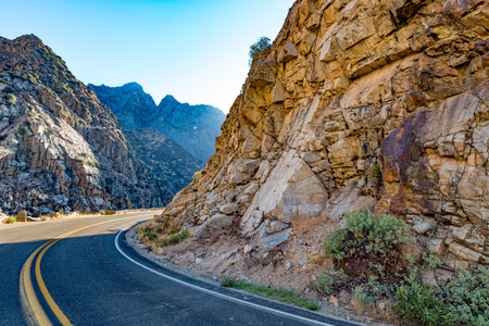 Kings Canyon Scenic Byway near Horseshoe Bend