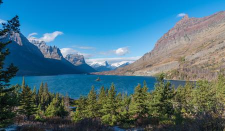 Saint Mary Lake near Sun Point Glacier National Park