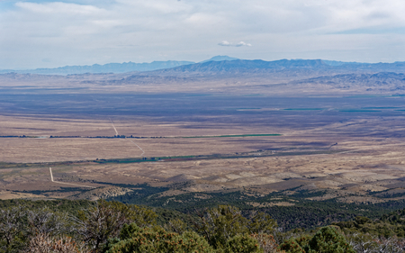 Overlooking the Mojave Desert in Nevada