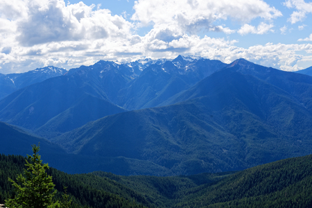 View from Deer Park Campground, Olympic National Park, Washington