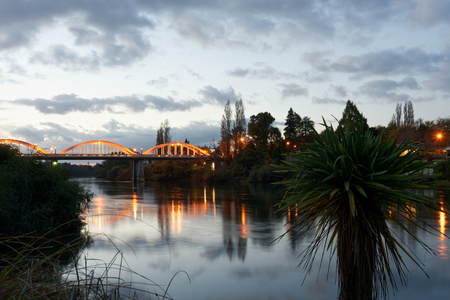 Waikato river near Fairfield Bridge, Hamilton