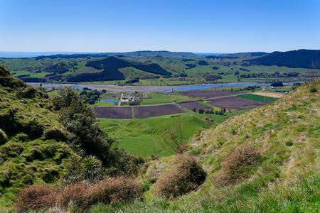 View from Te Mata Peak, Hawkes Bay, New Zealand