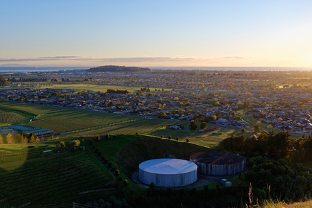 Sunrise from Sugar Loaf Reserve, Napier Reklamní fotografie