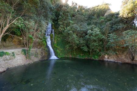 Waterfall in Centennial Gardens, Napier, NZ Reklamní fotografie