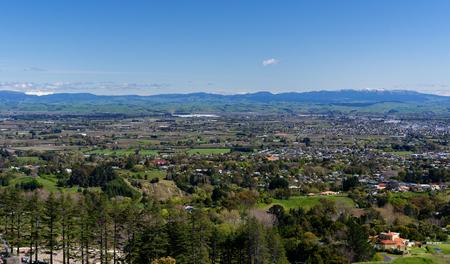 Hastings, Hawkes Bay aerial view