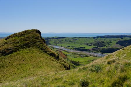 View from Te Mata Peak, New Zealand