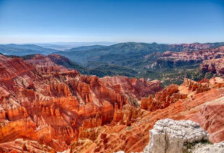 View of Cedar Breaks National Monument in Utah Reklamní fotografie