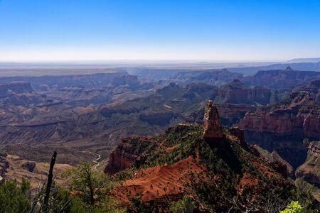 Vista of the North Rim of the Grand Canyon, Arizona