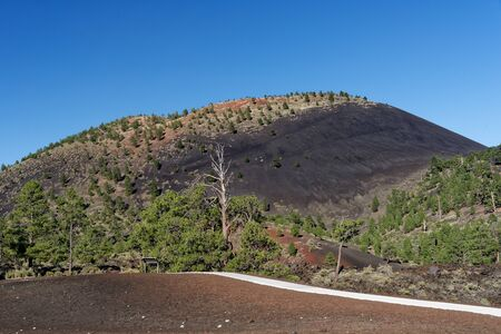 Sunset Crater, in Sunset Crater Volcano National Monument, Arizona