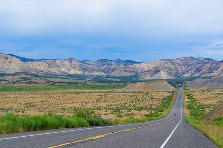 Scenery in Douglas Pass Road, Colorado route 139, USA