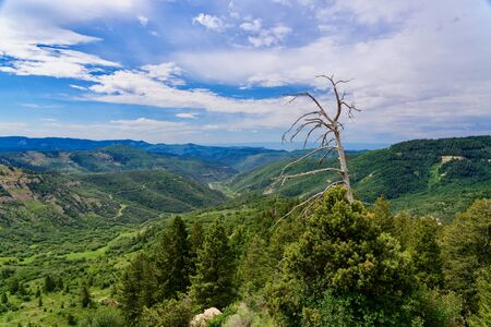 Douglas Pass, a mountain pass in Colorado, USA