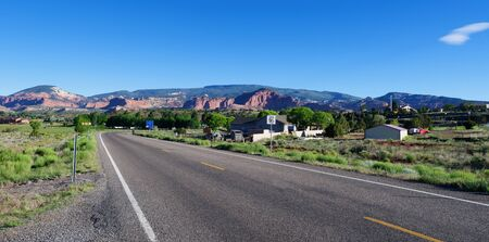 Torrey, Utah, along the Mormon Pioneer Highway Banco de Imagens