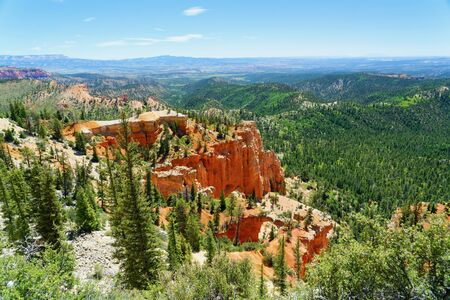 Overlook at Bryce Canyon National Park, Utah