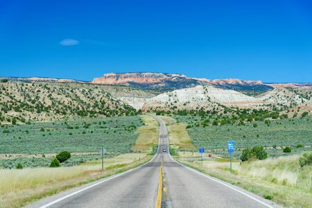 Approaching Bryce Canyon National Park from Utah State Route 12