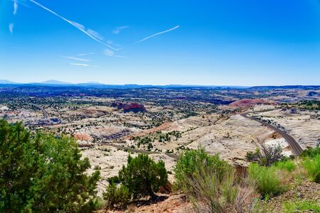 Head of the Rocks Overlook along Utah Scenic Route 12