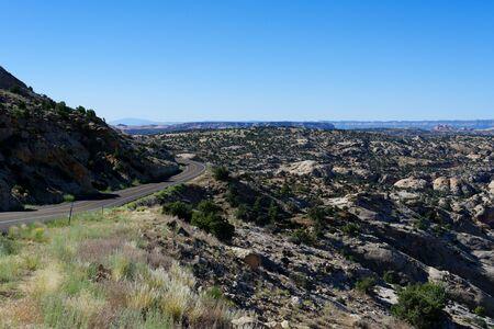 Utah Scenic Route 12 near Calf Creek, Utah