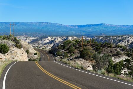 Utah Scenic Route 12 near Calf Creek, Utah