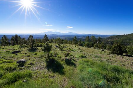 Larb Hollow Overlook along Utah Scenic Byway 12 near Torrey, Utah Stock Photo