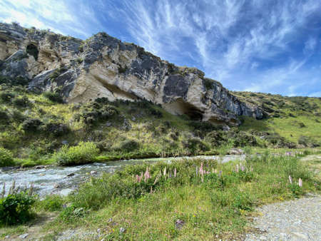 Cave Stream Scenic Reserve in the South Island of New Zealand