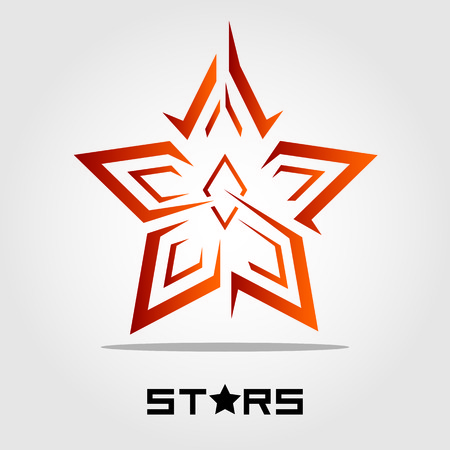 Star shape vector illustration
