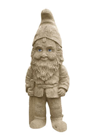 Garden Gnome with real eyes