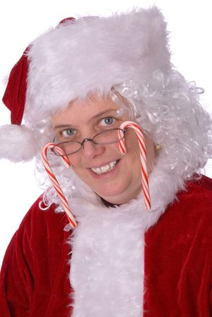 Mrs. Claus is very sweet on you Stock Photo - 2110755