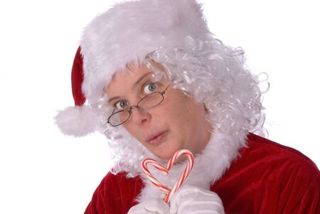 Mrs. Claus is very sweet on you Stock Photo - 2110683