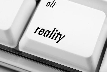 alt: Alt reality  on computer keyboard