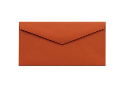 Envelope isolated on a white background  Reklamní fotografie