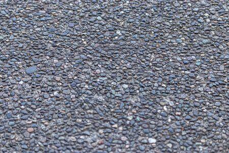 grunge pebble textured paving area create background