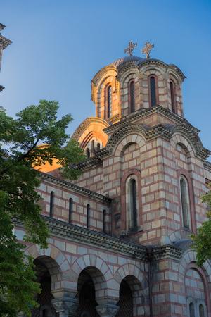 serbia: St. Marks Church in Belgrade, Serbia.