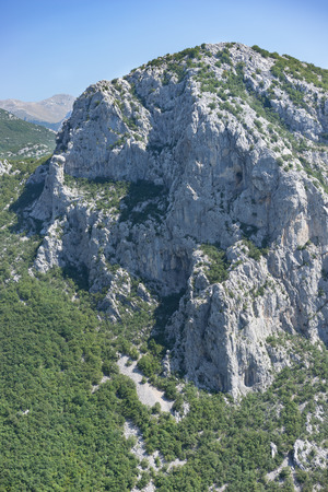 paklenica: Mountain in Paklenica National Park, Croatia.
